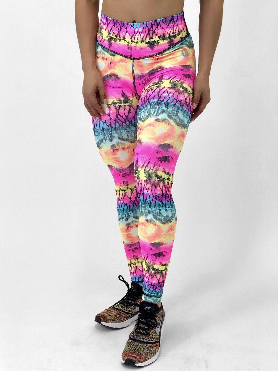 Neon Tie Dye Tie dye leggings, Tie dye, Bra size charts