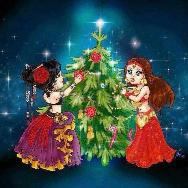 Christmas Feliz Navidad Navidad Danza Del Vientre