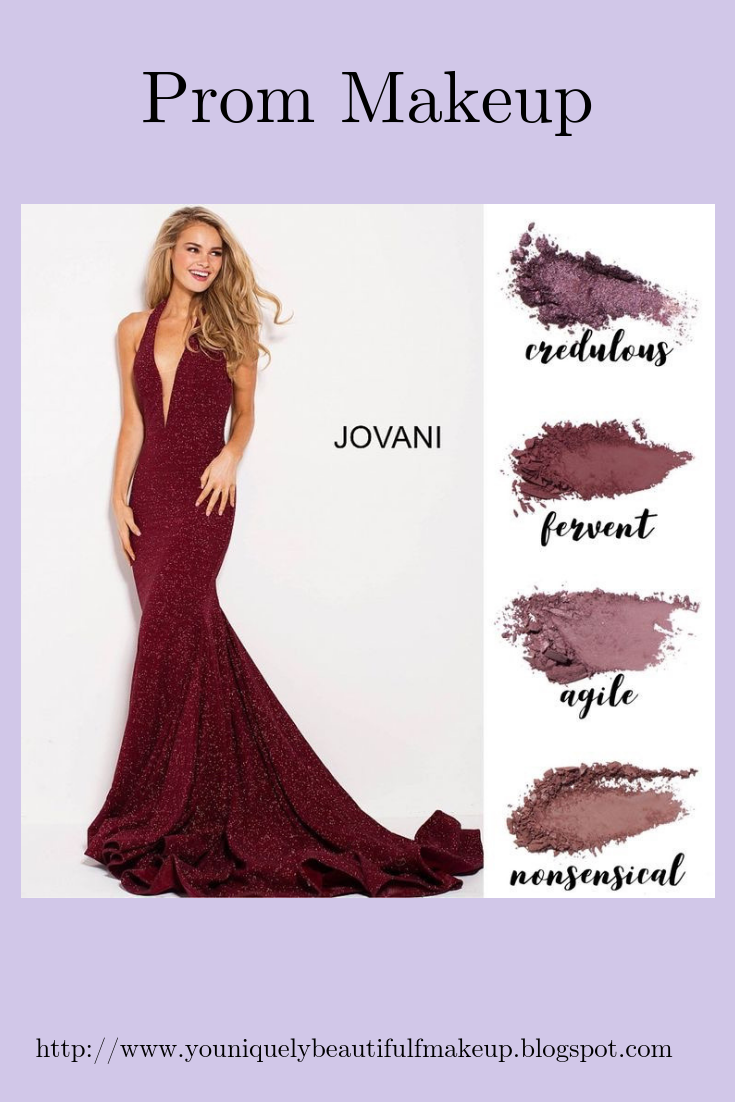 Youniquelly Beautiful  Red dress makeup, Prom makeup looks, Dress