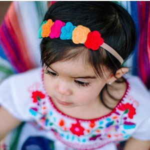 Feutrine rose fleur couronne, bandeau neutre, headband enfant, bandeau bébé, nouveau-né bandeau #feltflowerheadbands Feutrine rose fleur couronne bandeau neutre headband enfant | Etsy #bandeaulaine