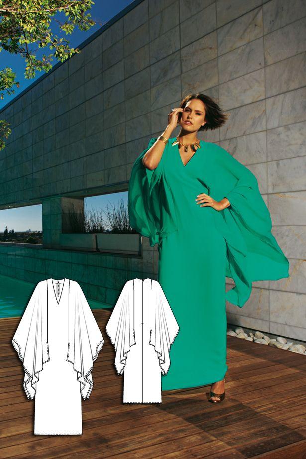 Bright Nights: 9 Women\'s Sewing Patterns   Schneiderei, Nähprojekte ...