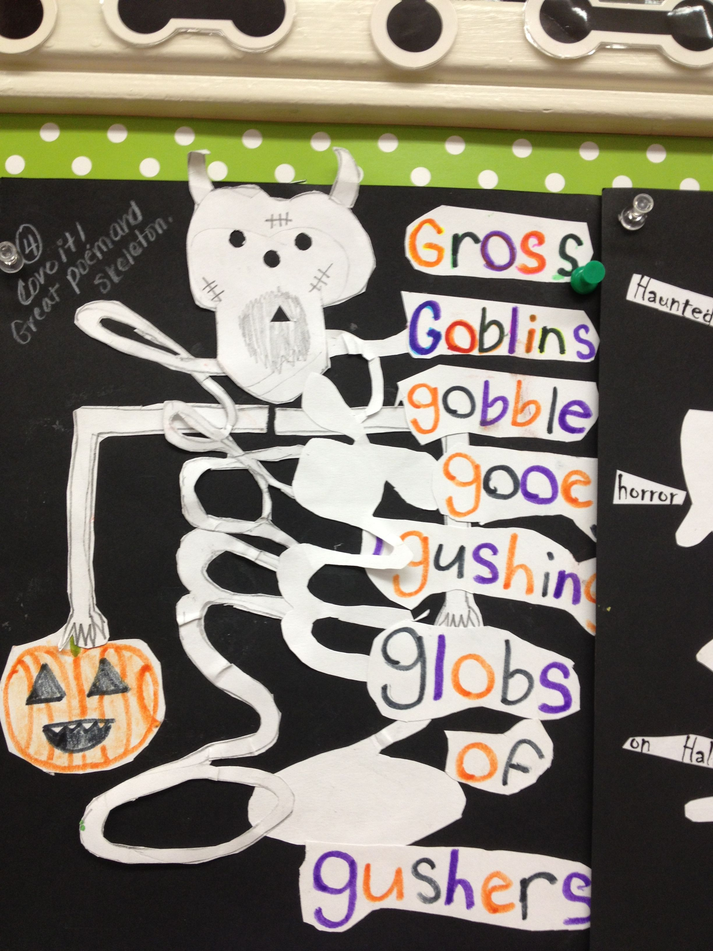 Skeleton Worksheet Fifth Grade