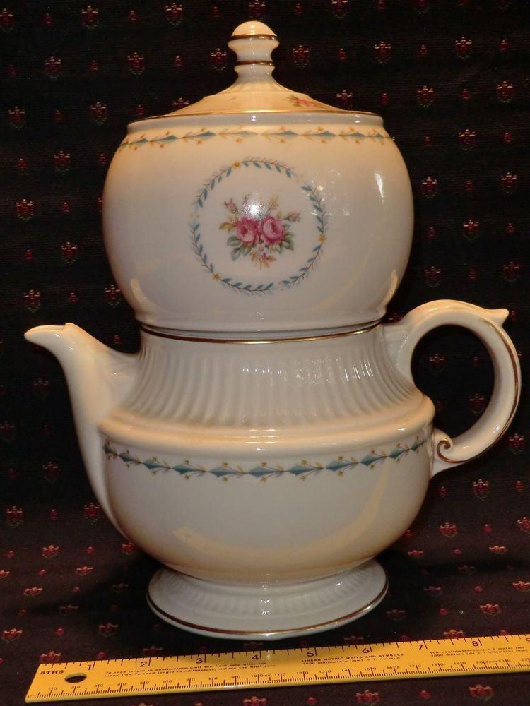 Vintage Harmony House Mount Vernon Hall China Drip Coffee Maker