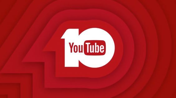 Years of youtube anniversary logos years