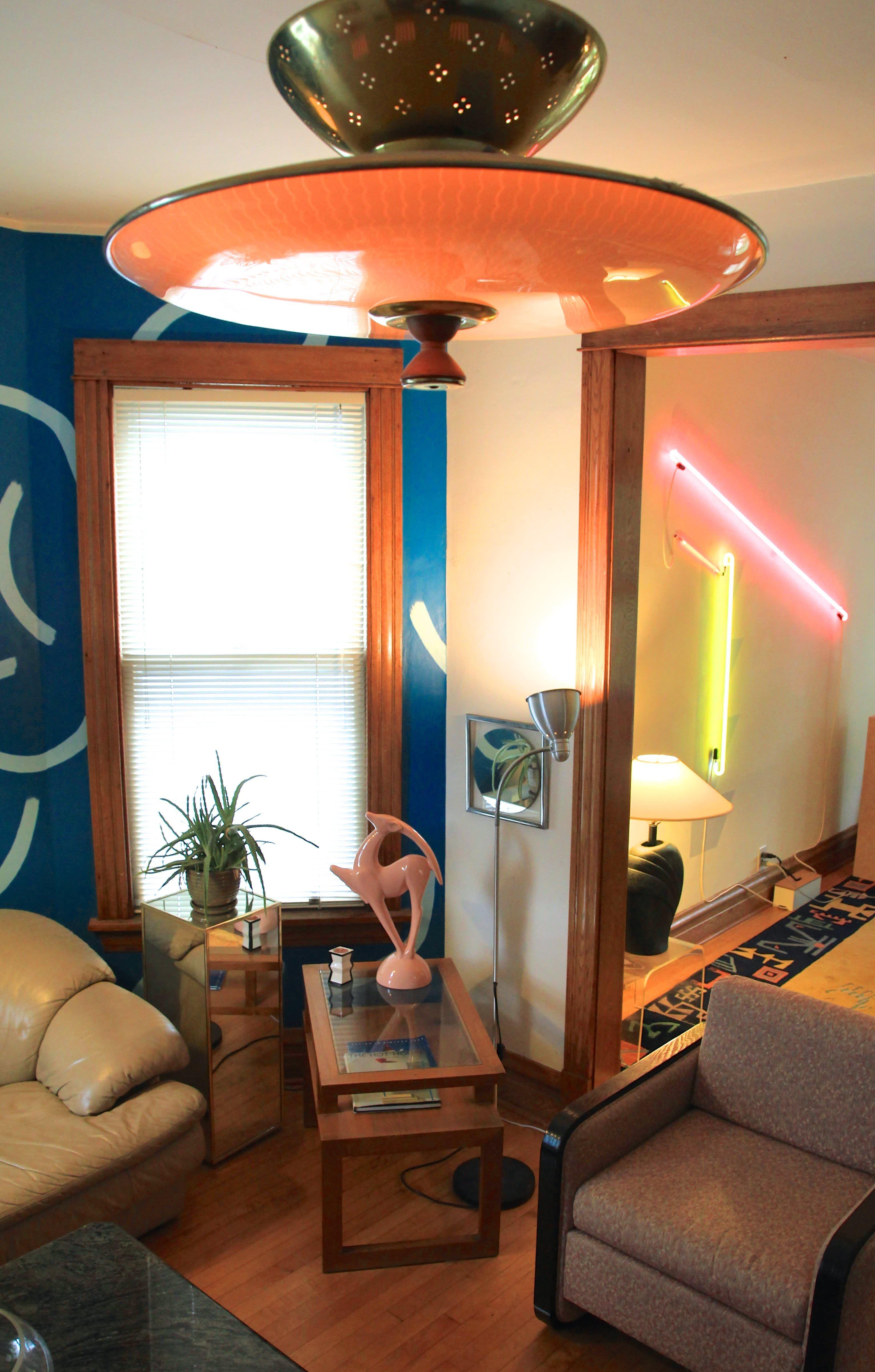 Meg's MemphisInspired '80s Apartment 80s interior