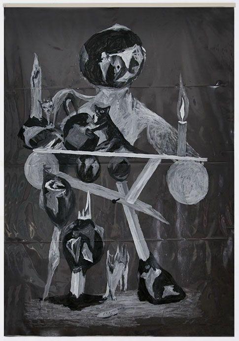 Acrílico sobre plástico. 250x150 cm. 2013