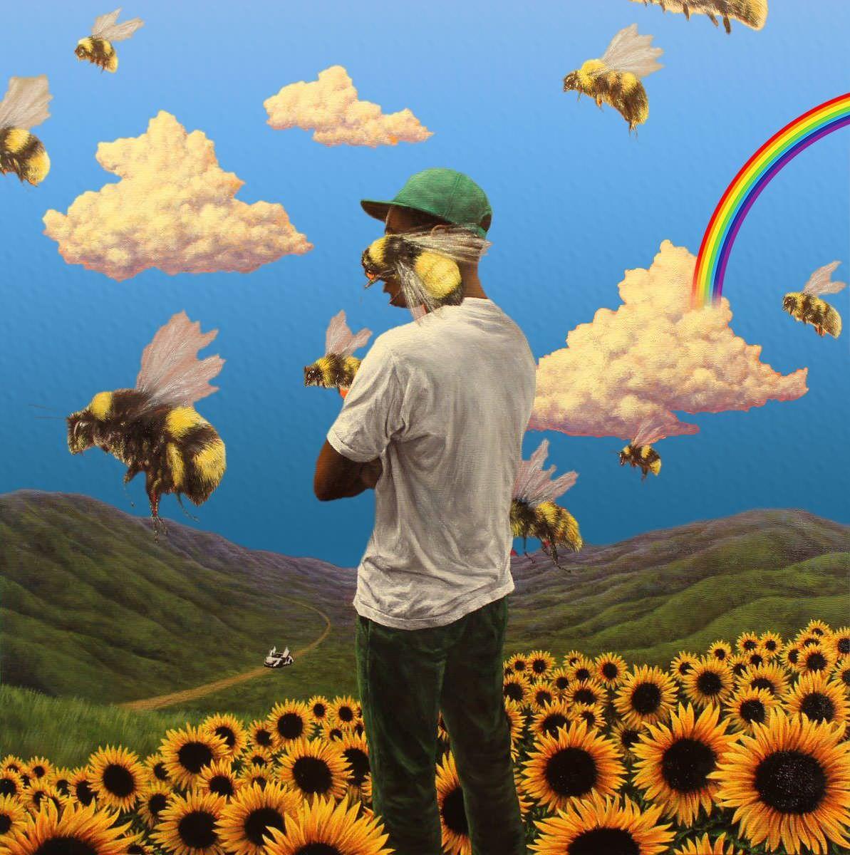 blue > yellow flower boy in 2020 Flower boy (album