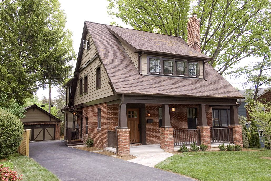 Charming House Colors, Brown And Red Brick . Ideii De Fatade Si Format