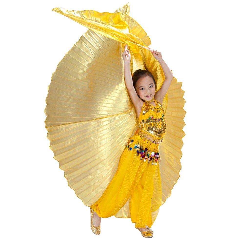 799d7bba5 Hanerdun Children Egypt Isis Wings Belly Dance Costume Full Isis ...