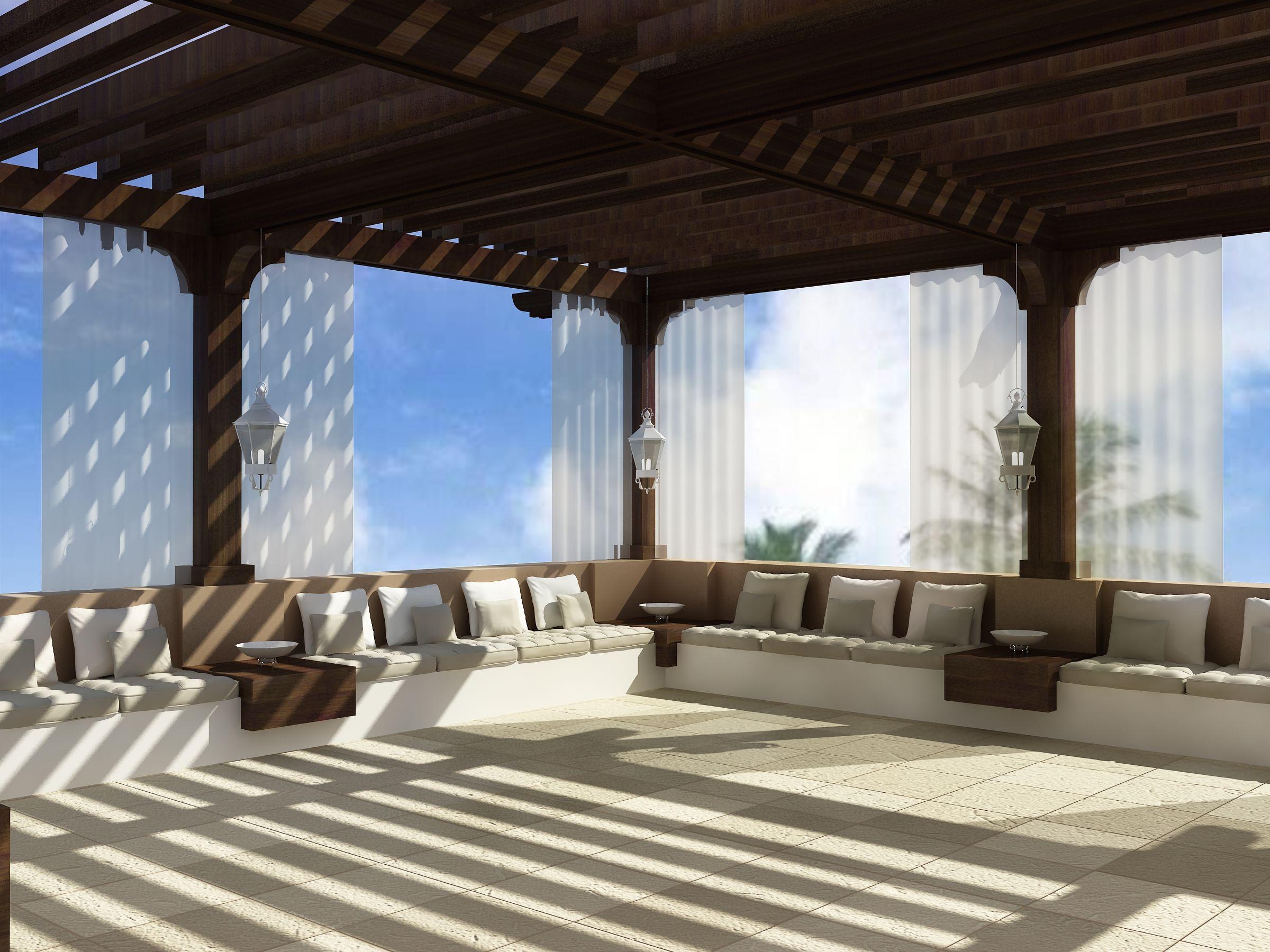 Arabian Roof Majlis Design | Boudoir Interiors Majlis ...