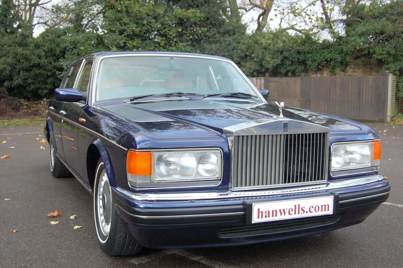 1997 p rolls royce silver dawn finished in peacock blue with cotswold interior with