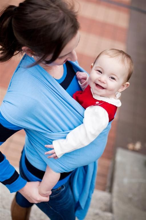 Echarpe de portage Boba Wrap Bleu Ciel.   Ambiance bleue   Pinterest ... 827c30c2fe9