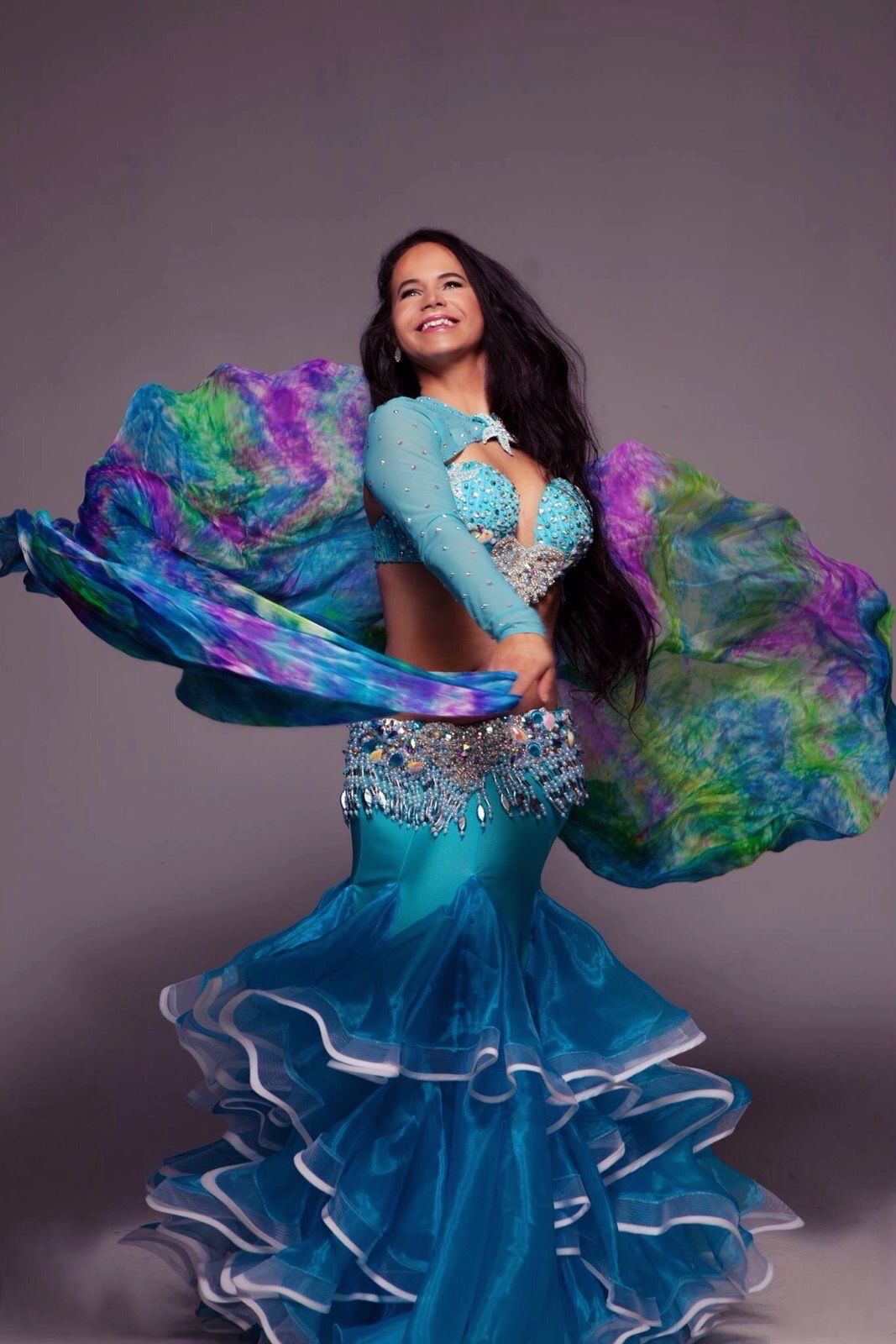 Mermaid Bellydancer Photography By Maggy Dominika Veil By Mirabesque Dress By Dogan Gok Oryantal Dansoz Bellydan Bauchtanz Bauchtanzerin Bauchtanzkostume