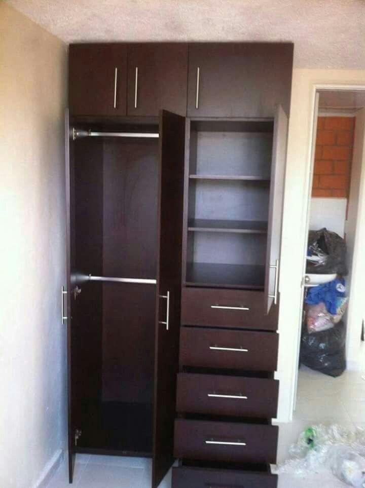 Closet para rec mara peque a interior coll 39 s pinterest for Decoracion hogares pequenos
