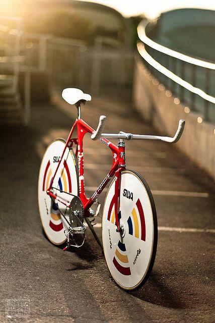 Olli Erkkila's Rossin Pursuit Track Bike.