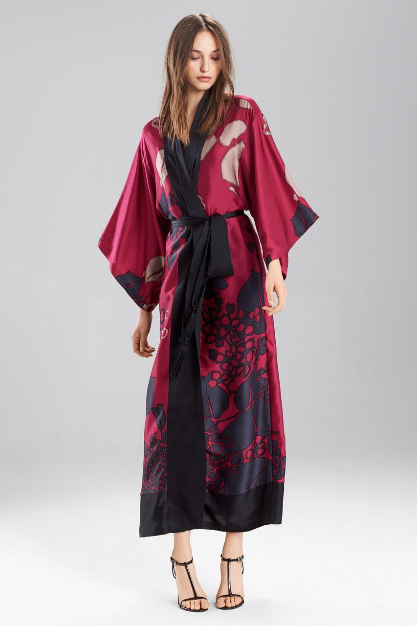 6cc31f8d9a Josie Natori Floral Veil Robe | covet | Robe, Veil, Dresses