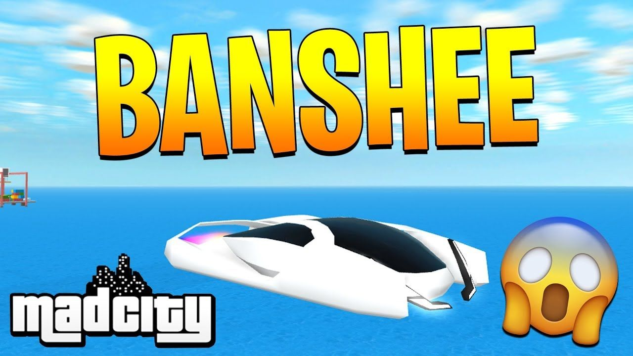 How To Get Banshee Vehicle For Free In Mad City Roblox - all the cars in mad city roblox