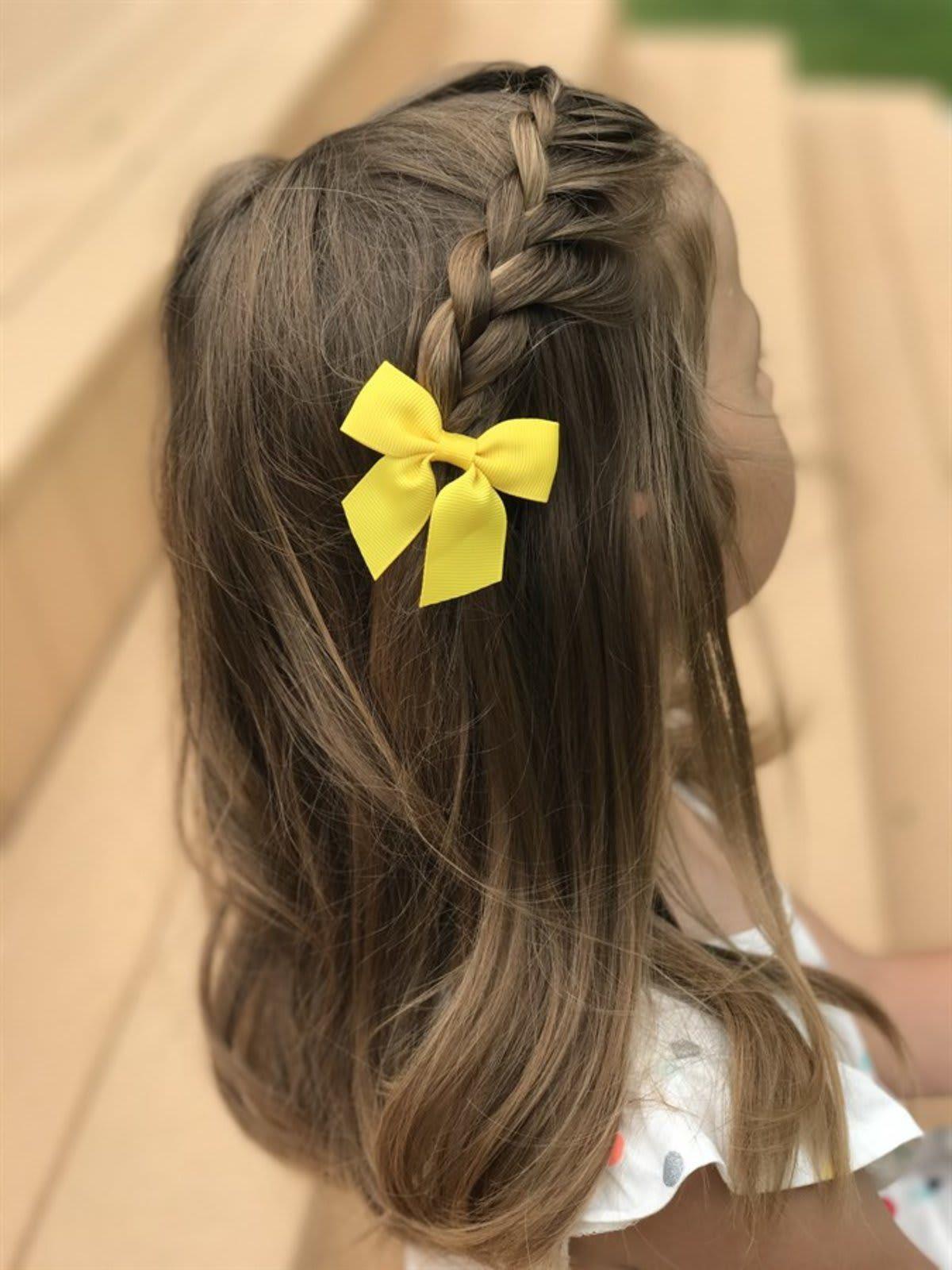 Spring Grosgrain Bows 5 Styles en 2019 Coiffure facile