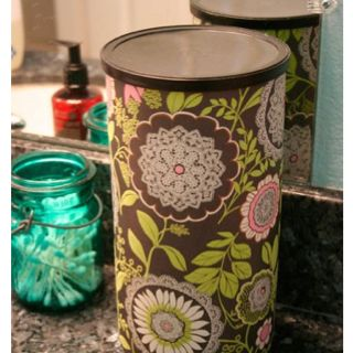 TP storage made from an oatmeal canister.