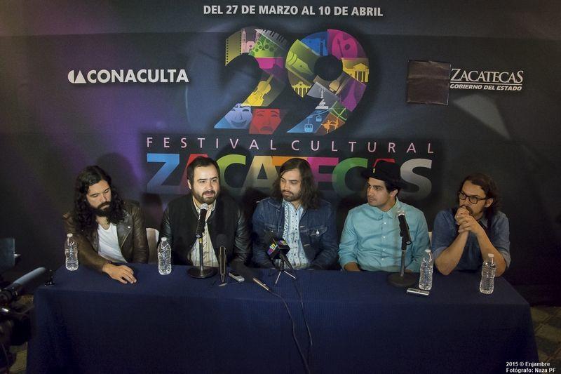 #FestivalCulturalZacatecas: Enjambre | Naza PF