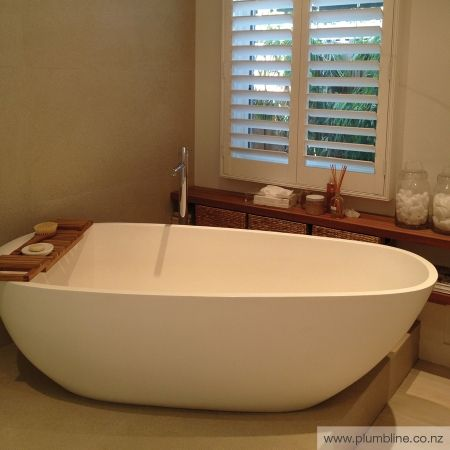 Solar 1660 Stone Freestanding Bath - Apaiser - Baths - Bathroom ...