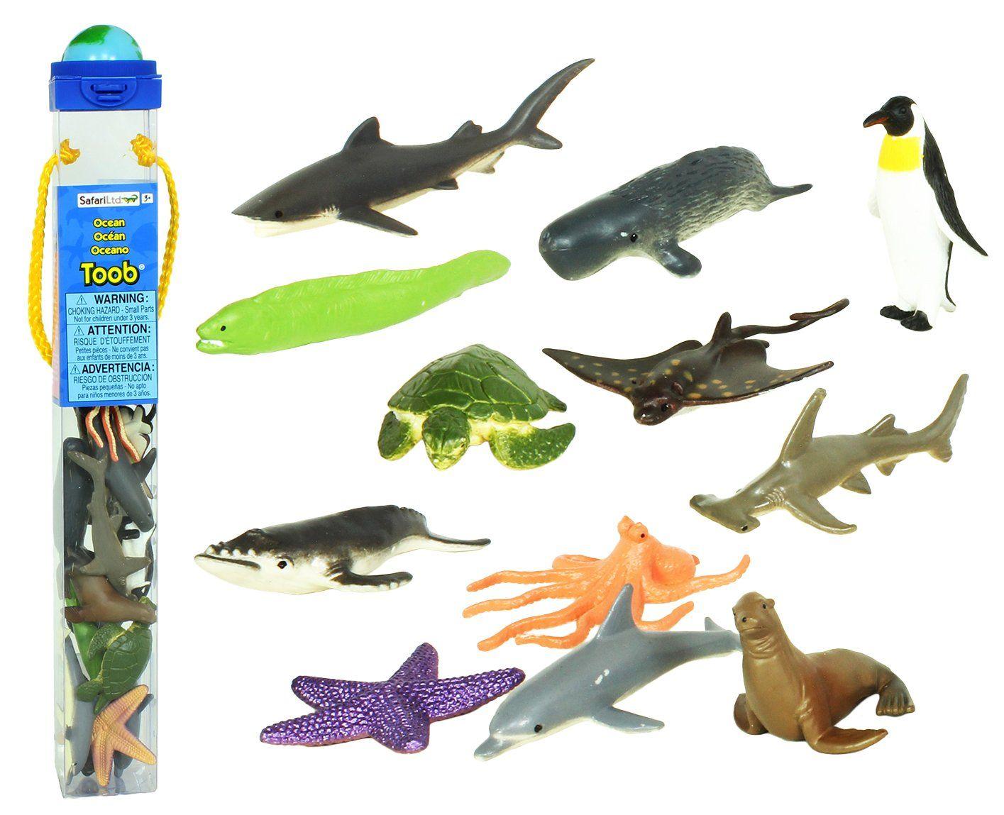 Safari Ltd Ocean TOOB | Toddler / Pre-School | Toys, Cool ...