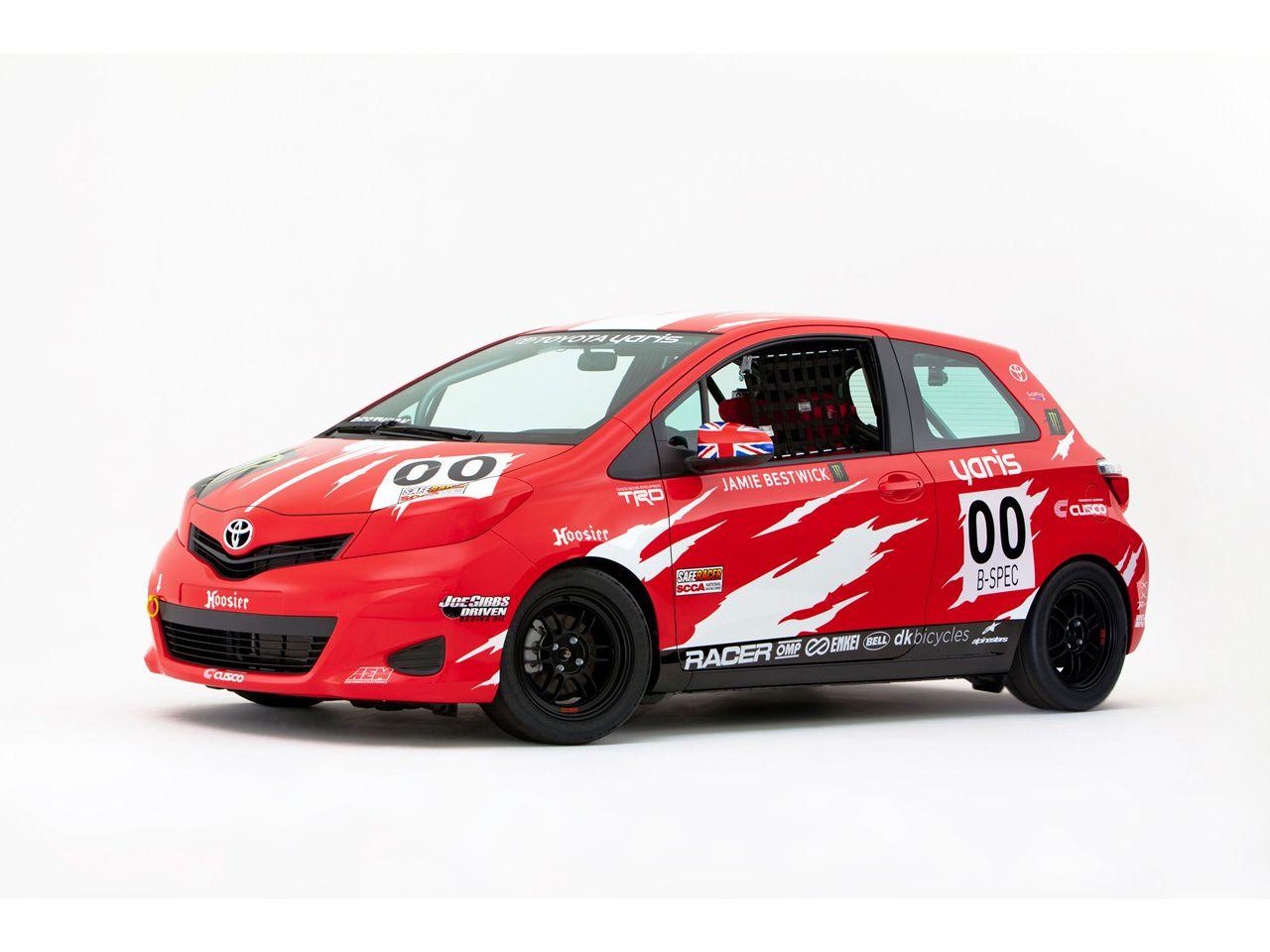 2011 toyota yaris b spec club racer