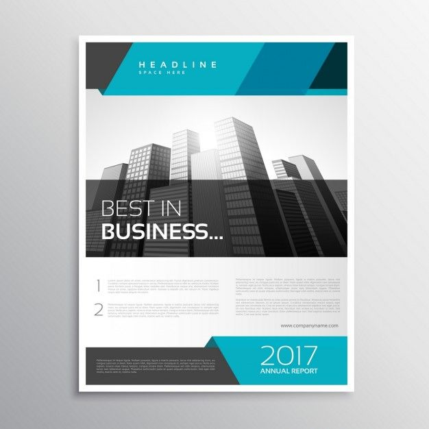 Stylish Modern Business Flyer Free Vector  Flyers
