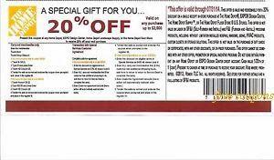 Printable home depot coupons june 2018