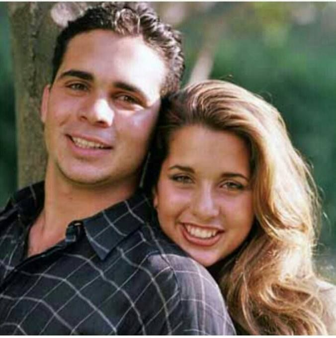 prince ali and princess haya - both children of Queen Alia