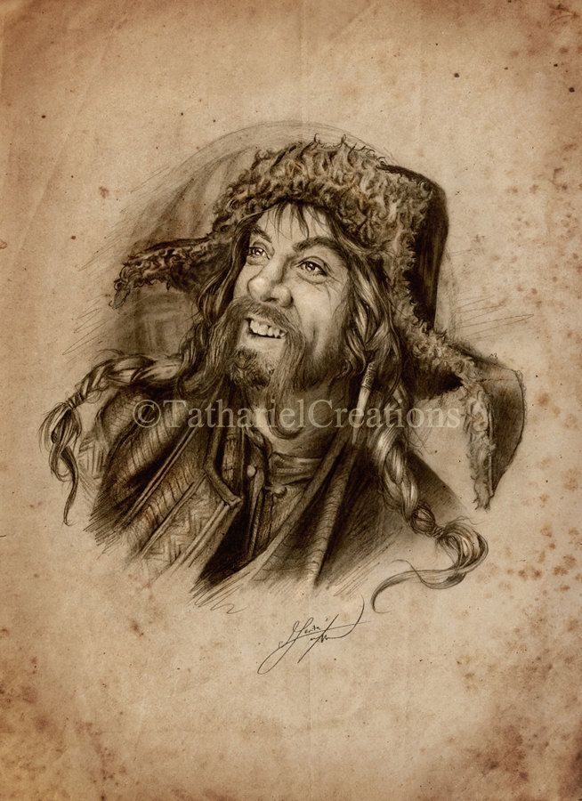 Bofur Art Print The Hobbit. by TatharielCreations on Etsy | babes ...