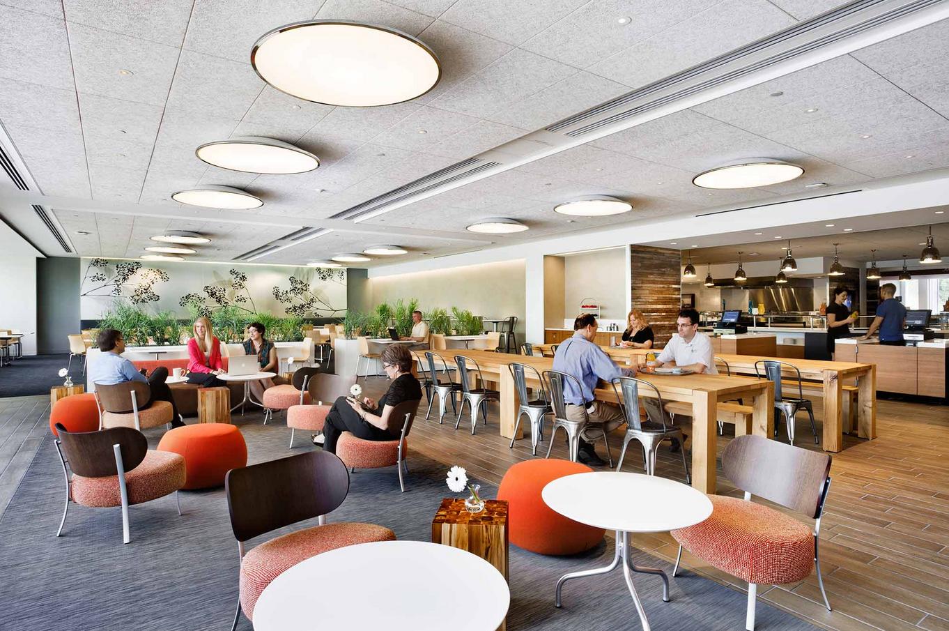 Basf S Modern Office Interior Design By Genstler