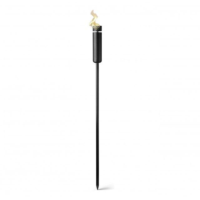 Menu - Menu Fire Torch - black/oil tank/H: 115cm