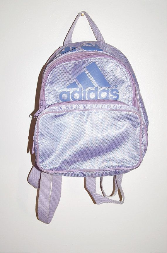 90sadidas Sporty Mini Backpack Hologram ♡ Hella bags And HB4cpgc
