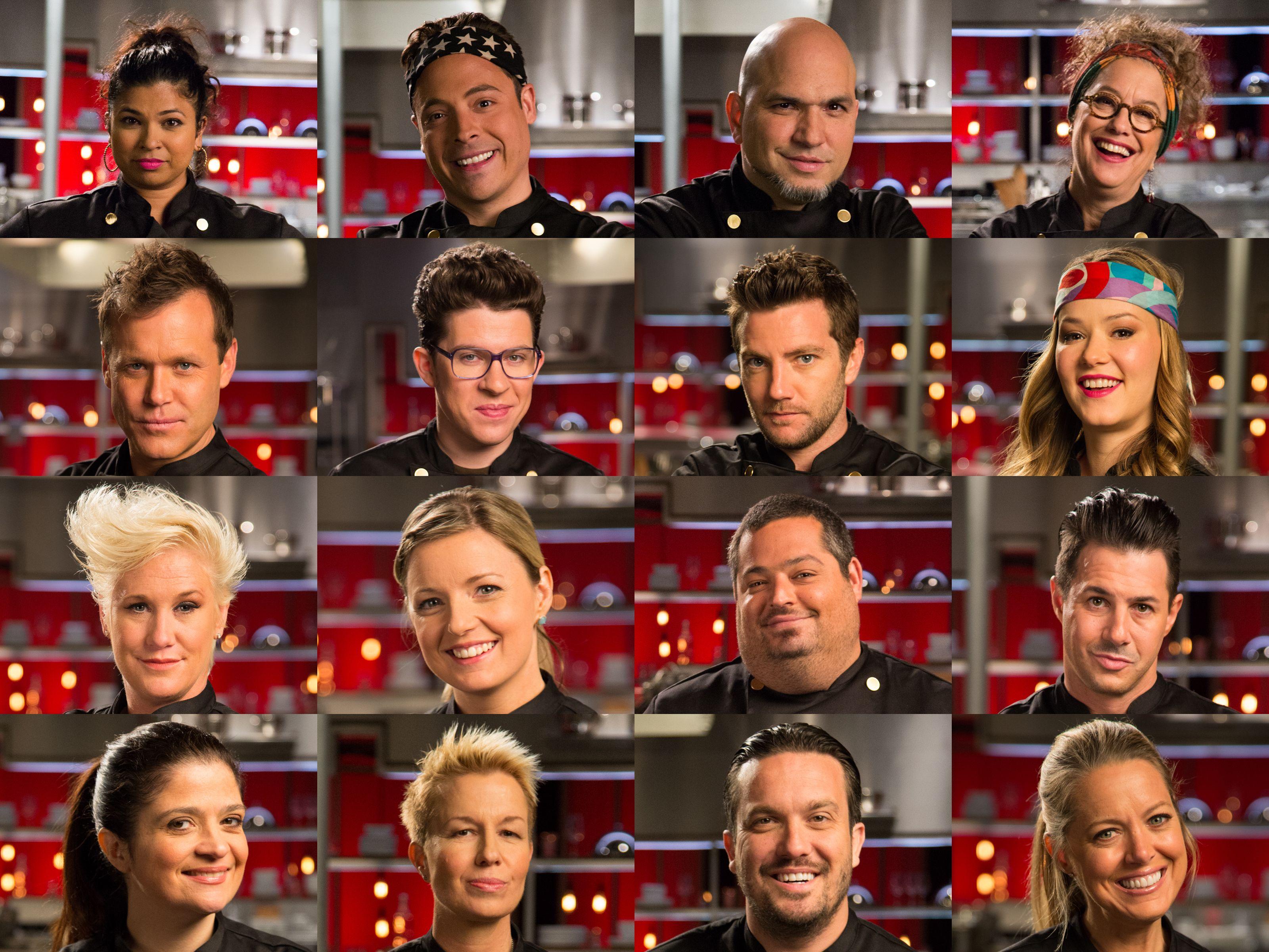 Meet The All Star Chefs On Cutthroat Kitchen Superstar Sabotage Foodnetwork Com Cutthroat Kitchen Star Chef Chef