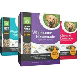 Wholesome Homemade Dehydrated Dog Food Poultry Recipe 6 Lb Box
