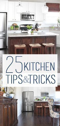 25 Kitchen Tips and