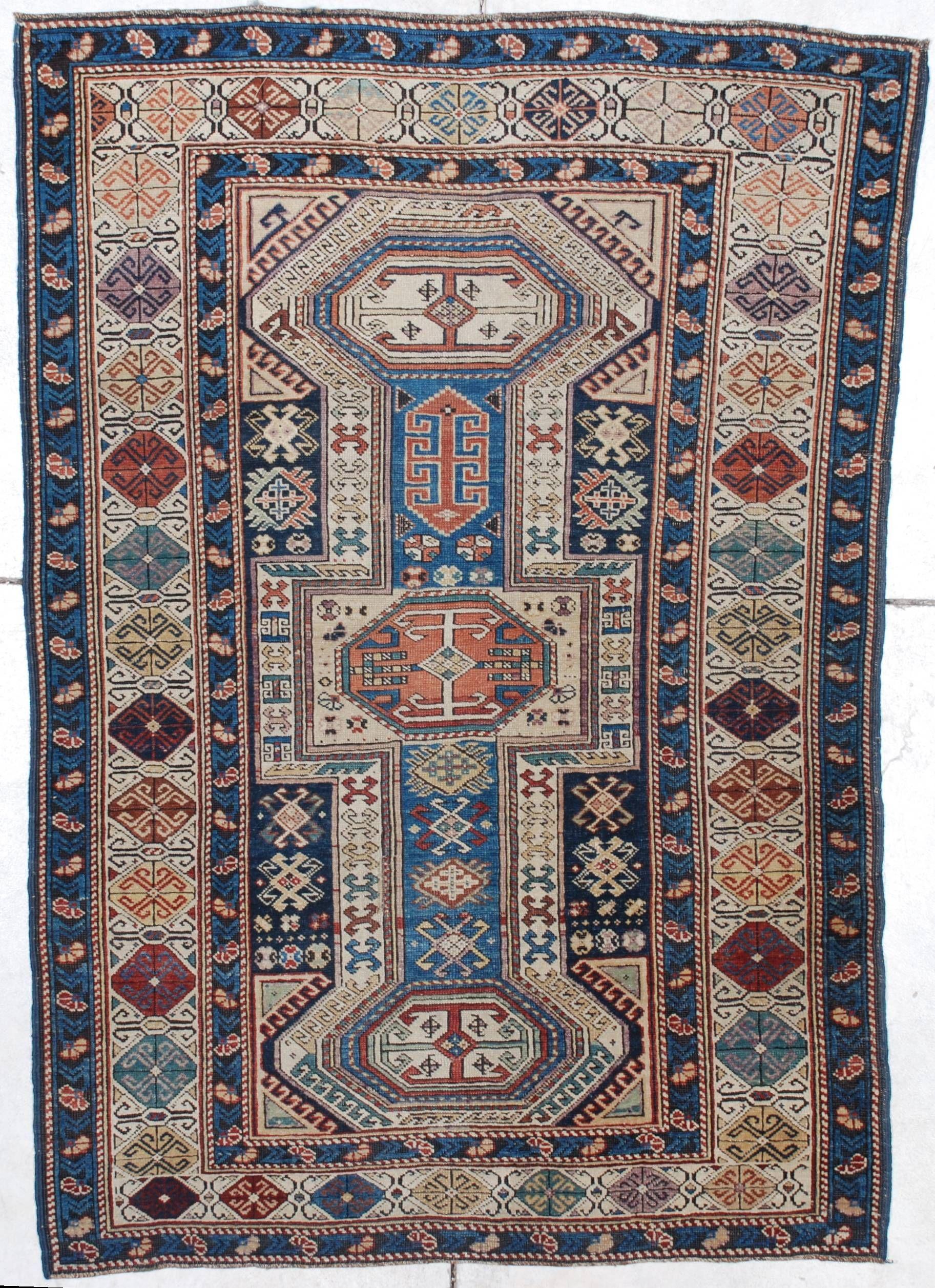7241 Shirvan Antique Caucasian Rug 3 7 X 5 3 Antique Oriental Rugs Rugs On Carpet Caucasian Rug Carpet Runner