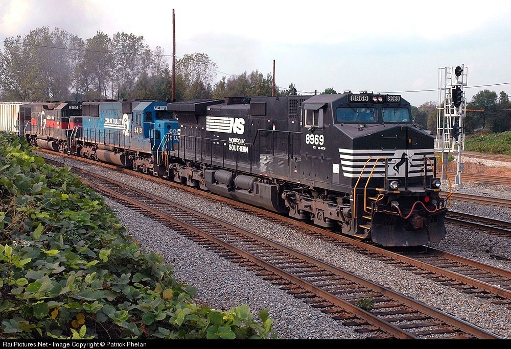Photo NS 8969 Norfolk Southern GE C409W