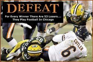 Packers Vs Bears 2011 The Rivalry Explodes Football Funny Packers Football Packers