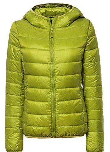 Macondoo Womens Packable Zip Coat Puffer Lightweigth Waistcoat Down Vest
