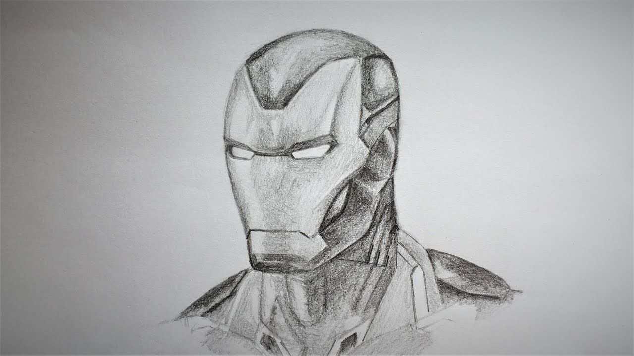How To Draw Iron Man Mark 85 Iron Man Drawing Iron Man Art Avengers Drawings