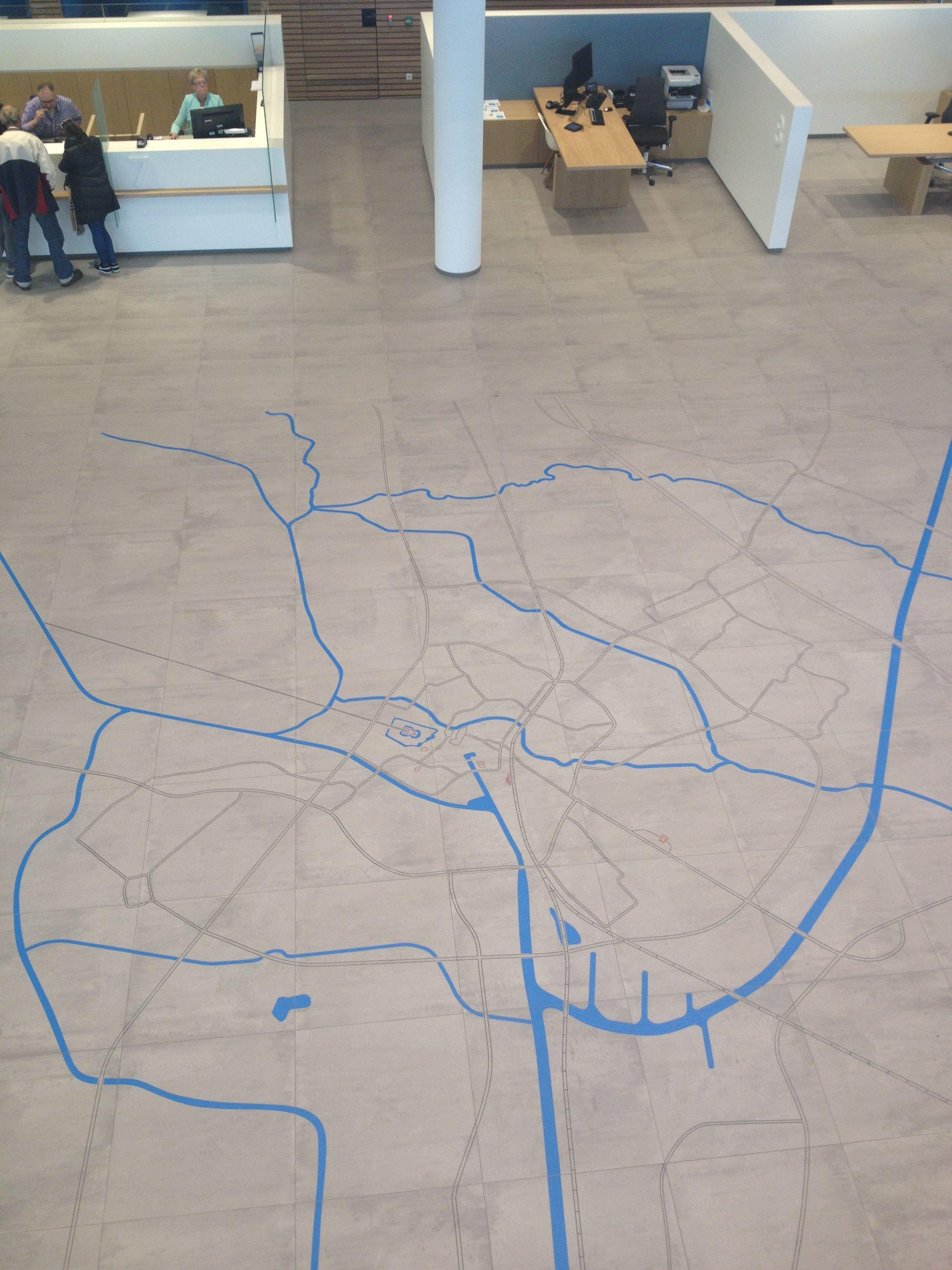 Terra Maestricht Tegels : Mosa vloertegels terra maestricht met de plattegrond van almelo in