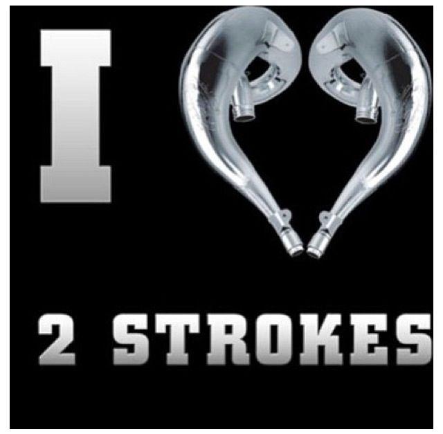 Best way 2 go screw those 4 stroke wimpy bikes | b710 | Dirt