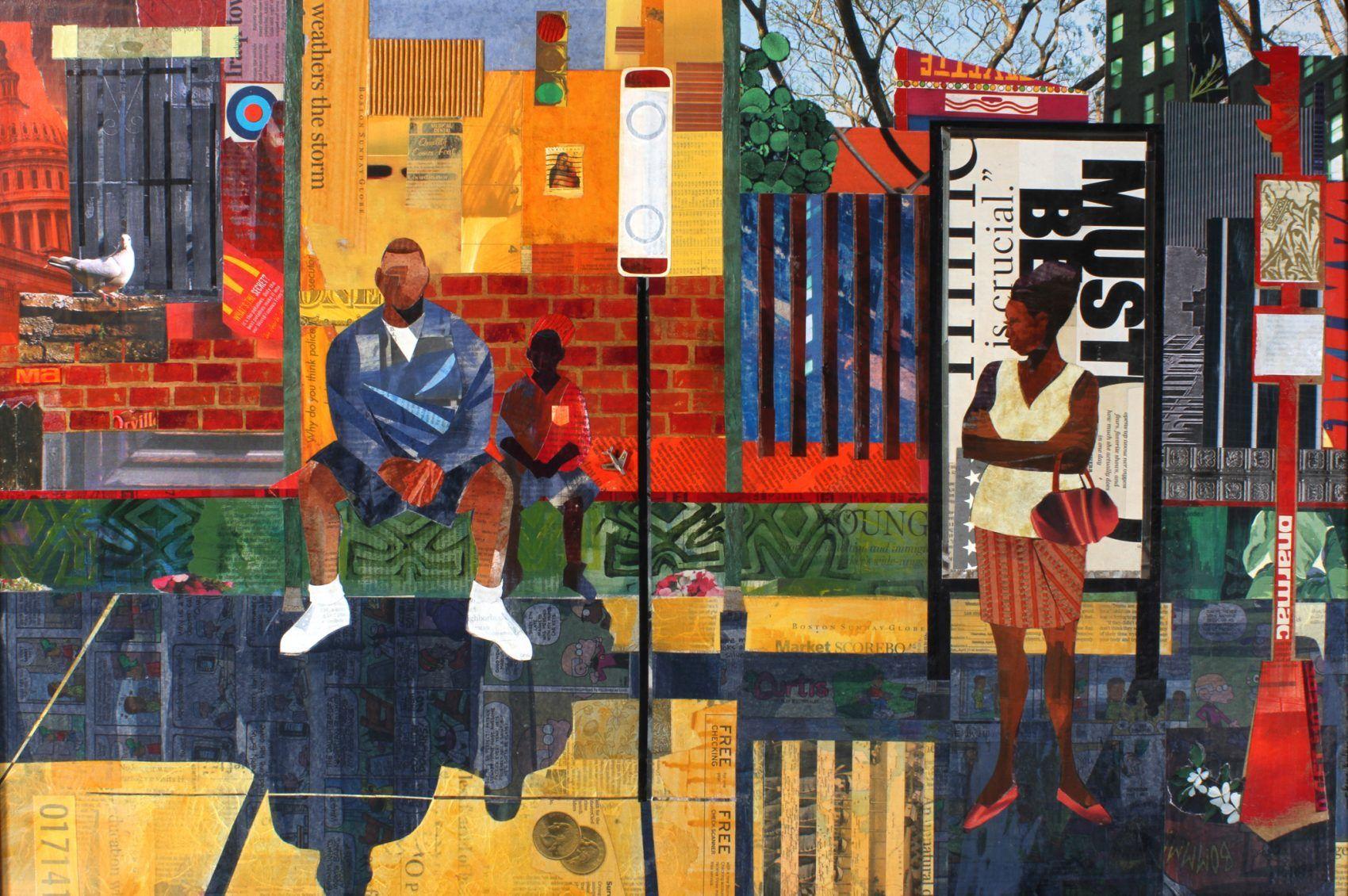 The Vibrant Art Of Roxbury S Ekua Holmes Recalls The