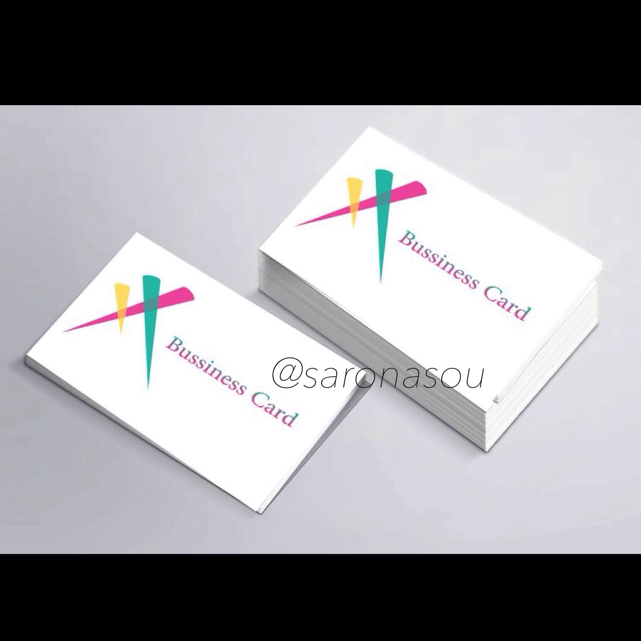 Logo color light business card design simple pink design logo color light business card design simple pink reheart Choice Image