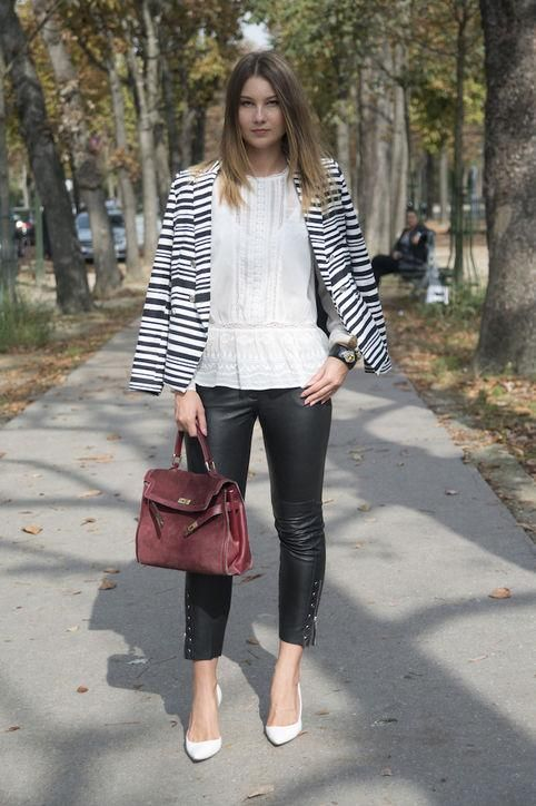 916b470d00c3 50 Cute New Ways to Wear Black and White