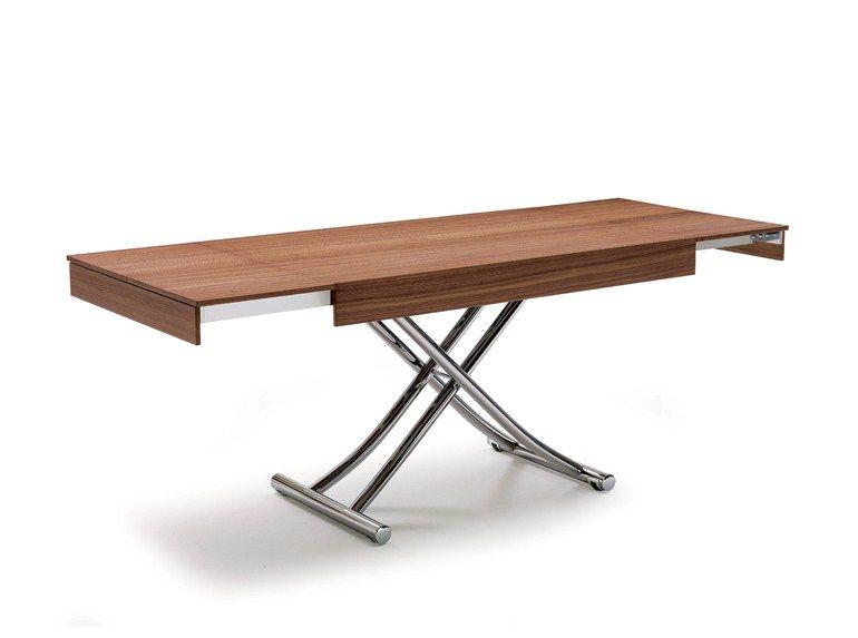 Height Adjustable Extending Coffee Table Wood By Ozzio Design Design Studio Ozeta Coffee Table Adjustable Height Coffee Table Table