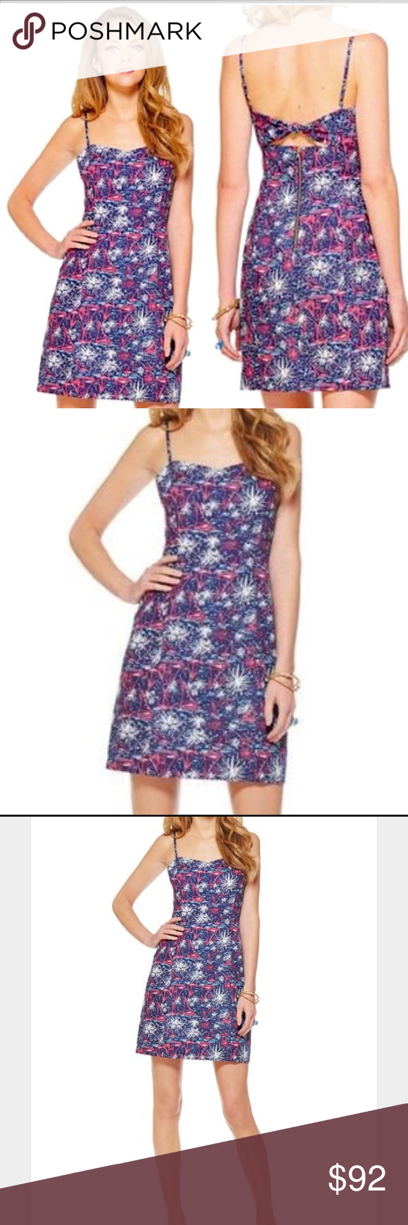 Lilly Pulitzer Sparks Fly McCallum Dress, Size 2 | Dark, Minis and ...