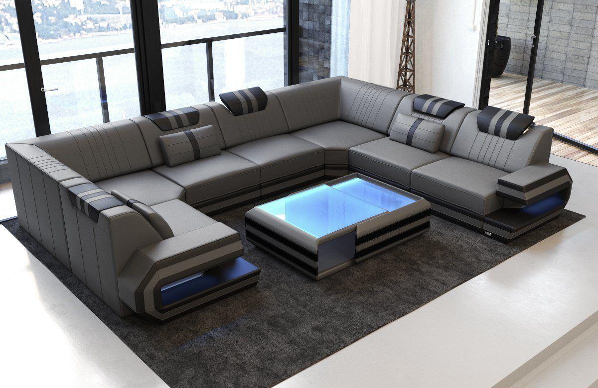 Wohnlandschaft Ragusa U Form Wohnzimmermobel Modern Sofa Design Wohnzimmer Design
